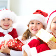 Funny christmas company — Stock Photo #13806062