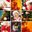 Christmas collage — Stock Photo #13806064