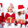 Funny christmas company — Stock Photo #13806069