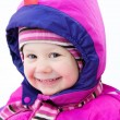 Adorable girl inwinter — Stock Photo