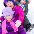 Children in wintertime — Stock Photo