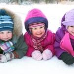 Children in winter — Stock Photo