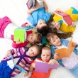Children are reading — Stockfoto