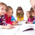 Kids make Homework — Stock Photo