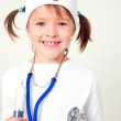 My dream is to become a physician — Stock Photo