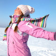 Winter wonan — Stock Photo