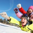 Winter fun — Stock Photo #14086779