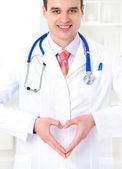 若い医者は男性の肖像画 — ストック写真