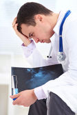 Failure of the doctor — Stock Photo
