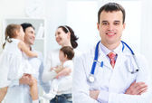 Family doctor — Stock Photo