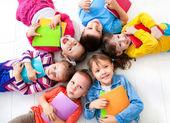 Kids six — Stock Photo