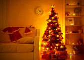 Presents under Christmas Tree — Stockfoto
