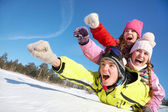 Kış eğlence — Stok fotoğraf