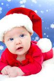 Christmas baby — Stock Photo