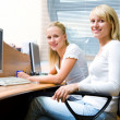 Portrait of two businesswomen — Stock Photo #16501699