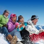Snow games — Stock Photo #16894587