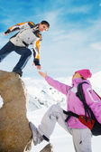 Mountaineers — Stock Photo
