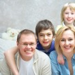Family at home — Stock Photo #18669927