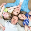 Family at home — Stock Photo #18669931