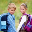 Portrait of boy with girl — Stock Photo #19261389