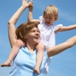 Happy mother with her little daughter — Stock Photo #19261547