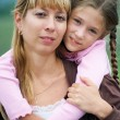 Mum and daughter — Stock Photo