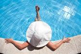 Relaxamento na água — Foto Stock