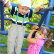 Children on playground — Stock Photo #21416949