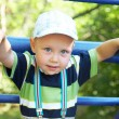 Child on the playground — Stock Photo