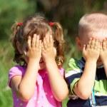 Funny kids — Stock Photo