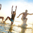 Teens papty on sea resort — Stock Photo #22505003