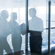 Silhouettes of businesspeople — Stock Photo #22607405