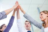 Teamwork and team spirit — Stock Photo