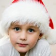 Pensive Young Santa — Stock Photo #2342499