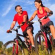 Cycling  — Stockfoto