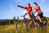Jazda na rowerze — Zdjęcie stockowe