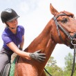 Horsewoman — Stock Photo #24356337