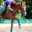 Horsewoman — Stock Photo