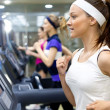 Running in gym — Stock Photo #24690209