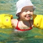 Child swimming — Stock Photo #25009097