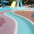 Slide in water park — Stock Photo