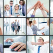 Scenes of corporate business — Stock Photo