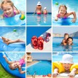 Stock Photo: Happy children on resort