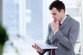 Man in office — Stock Photo