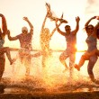 Beach party — Stock Photo
