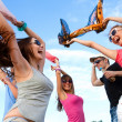 open-air-party — Stockfoto