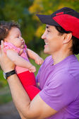 Fatherhood — Stock Photo