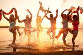 Plaj partisi — Stok fotoğraf