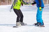 Snowboarding — Stock fotografie