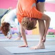 Yoga class — Stock Photo